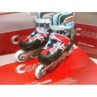Inline Skate Cougar New Red - White