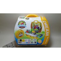 Mainan Kitchen Cooking Dream The Suitcase Play Set Koper 8311 Masak Masakan