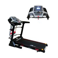 Electric Treadmill Multifungsi w/ Spring Shock Abs OB-1037 by OB FIT