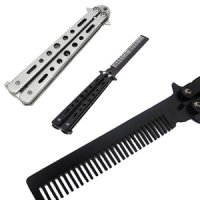 Butterfly Benchmade Switchblade BALISONG comb Sisir Lipat Pisau pomade