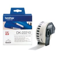 Brother Label Tape DK-22210 Continuous Length Paper Tape-Master Dealer