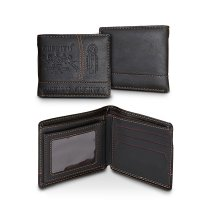 Men Leather Card Cash Receipt Holder Organizer Bifold Wallet Purse