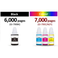 Tinta Canon 790 Bottle colour Ink for G1000,2000,3000 Series Printers