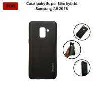 CASING Samsung A8 2018 Case Ipaky Super Slim Hybrid