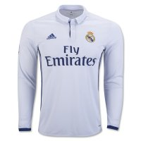 Jersey Longsleeve Real Madrid Home 2016/2017 Grade ori official
