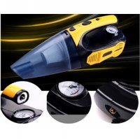 Car Vaccuum Cleanner 4 in 1, Car Tire Pump., Flashlight (Best Quality)