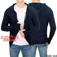 Long Knit Sweater Hoodie Ariel SWE 569