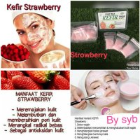 MASKER KEFIR STRAWBERRY BY SYB ORIGINAL SJ0058