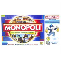 Mainan MONOPOLY 5 IN 1