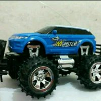 Mobil Remot Control Jeep Monster Skala 1:22