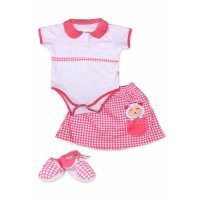 Kiddy Baby Set Baju motif baru 11161 0-6 bulan - Best Gift