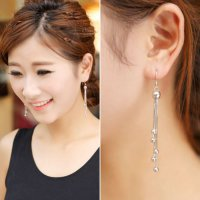 Tassel Long Earrings Fashion Jewelry Anting Panjang YXE758 SJ0059