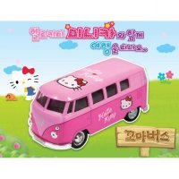 Hello Kitty Classic Car / crispy car / bus boy - miniature Hot Wheels toy car model character Interior Gift Suggestions