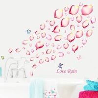 Wall Sticker | Wallsticker Love Rain