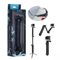 TMC 3 Way Foldable Extension Tripod for gopro