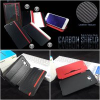 Carbon Flip Case by FS Samsung Galaxy E7 e700