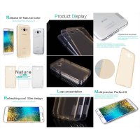 Nillkin Nature TPU Case Samsung Galaxy E7 e700