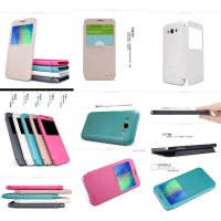 Nillkin Sparkle Leather Case Samsung Galaxy E7 e700