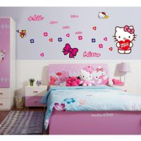 Wall Sticker | Wallsticker Hello Kitty 2