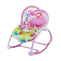 Pliko Bouncer Rocking Chair Hammock 3 Phases Lion Pink