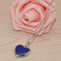 Kalung Mood Love Beauty Necklace Changing Color