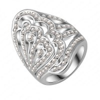Xuping SJ1190 Cincin 18K Rhodium Plated