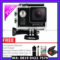 (Action Camera) BRICA B-PRO 5 Alpha Edition Combo Extreme HD 1080p Wifi - Hitam