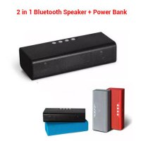 [globalbuy] Outdoor sports 4000mAh Portable Wireless Stereo Bluetooth Speaker 10W with Pow/3362673
