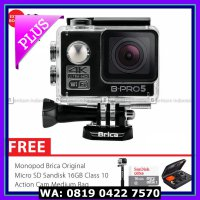 (Action Camera) BRICA B-PRO 5 Alpha Edition 2 (AE2) 4K Combo Brica Deluxe - Hitam