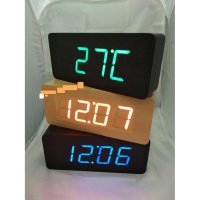 Jam Meja Digital Led Weker