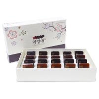*Sweet jelly of red beans Gift Set (Paket kardus/40g*20ea) [YANGAENGAE]