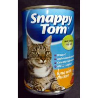 Makanan Kucing Snappy Tom Tuna With Chicken 12 pcs x 400g 056142