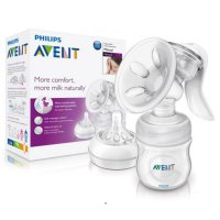 PHILIPS AVENT BABY NATURAL COMFORT MANUAL BREASTPUMP/ POMPA ASI BAYI