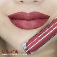 Wardah Matte Lip Cream 12 Plum It Up