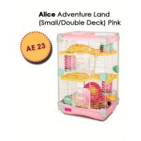 Kandang Hamster / Adventure Land For Hamster Double Deck AE23