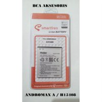 BATTERY BATRE BATERAI SMARTFREN ANDROMAX A H15408 ORIGINAL - FREE HOLDER RING
