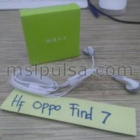 Headset/Handsfree/Earphone Oppo Find 7 Original 100%