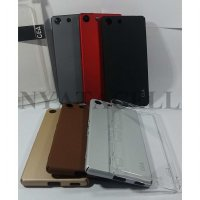 Hard Case Gea SoftTouch Sony M5 Dual /Casing Tpu Cover 360 Full Clear