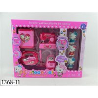 [BEST SELLER] SALE MAINAN ANAK PEREMPUAN CARTOON CAT 1368-11 - PINK