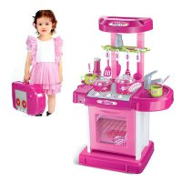 Terlaris KITCHEN SET KOPER PINK - MAINAN MASAK MASAKAN
