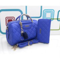 DJ Fashion The Elegant Woman Bag - One Set - Blue