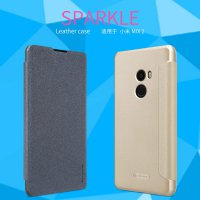 Nillkin Flip Case (Sparkle Leather Case) -Xiaomi Mi Mix 2 / Xiaomi Mi Mix Evo Gold