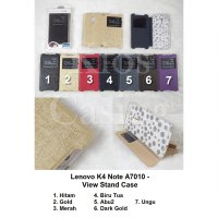 Lenovo K4 Note A7010 - Flip Cover View Stand (Case Casing Sarung)