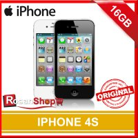 Apple iPhone 4s 16GB Garansi 1 Thn Original 100% ( Black , White )