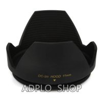[globalbuy] 77mm Lens Hood (Screw Mount) Petal Crown Flower Suit For All SLR camera / digi/3320925