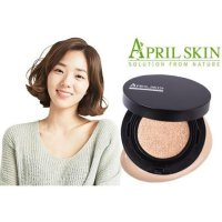 [BEST SELLER] Bedak Aprilskin / Bedak Korea Aprilskin Cushion Black