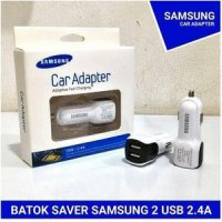 CHARGER Saver Samsung 2 USB 2.4A l Samsung Car Adapter