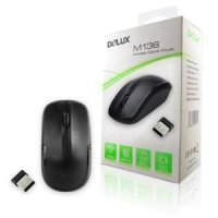 Mouse Delux M136 Wireless Optical Original
