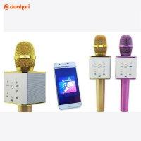 Q7 Bluetooth Microphone Speaker Mic Smule KTV karaoke Wireless Mic