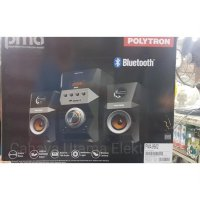 Bazar! Polytron Multimedia Active Speaker Pma 9502 Bluetooth Black - |QQI:2237